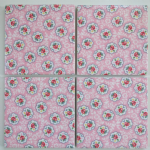 4 Ceramic Coasters in Cath Kidston Kempton Rose